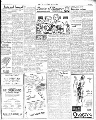 Hope Star from Hope, Arkansas on December 17, 1948 · Page 3
