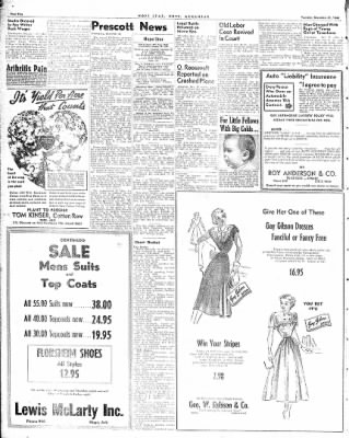 Hope Star from Hope, Arkansas on December 21, 1948 · Page 2