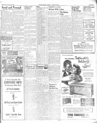 Hope Star from Hope, Arkansas on December 22, 1948 · Page 3