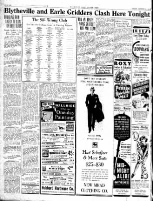 The Courier News from Blytheville, Arkansas on October 5, 1934 · Page 6