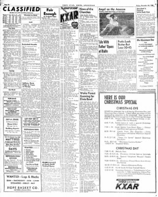 Hope Star from Hope, Arkansas on December 24, 1948 · Page 6