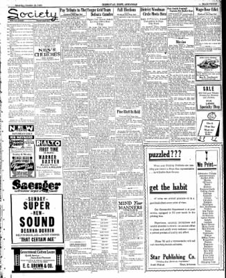 Hope Star from Hope, Arkansas on October 22, 1938 · Page 3