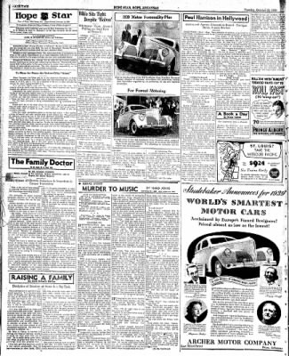 Hope Star from Hope, Arkansas on October 25, 1938 · Page 2