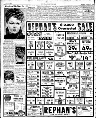 Hope Star from Hope, Arkansas on November 17, 1938 · Page 8