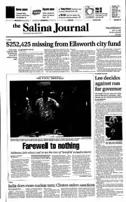 The Salina Journal from Salina, Kansas on May 14, 1998 · Page 1