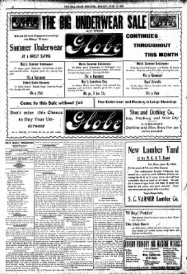 Iola Daily Register And Evening News from Iola, Kansas on June 22, 1903 · Page 2