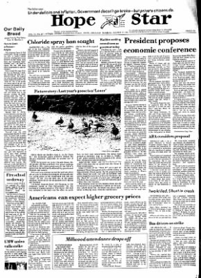 Hope Star from Hope, Arkansas on August 13, 1974 · Page 1