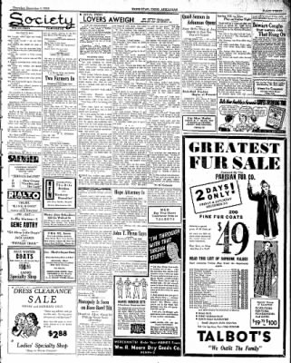 Hope Star from Hope, Arkansas on December 1, 1938 · Page 3