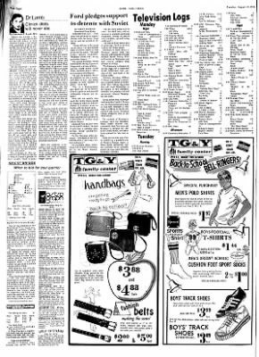 Hope Star from Hope, Arkansas on August 13, 1974 · Page 8