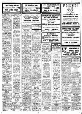 Alton Evening Telegraph from Alton, Illinois on May 28, 1952 · Page 23