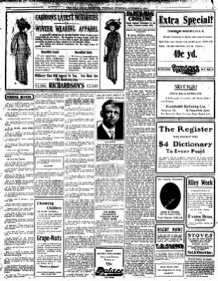 Iola Daily Register And Evening News from Iola, Kansas on October 8, 1912 · Page 3