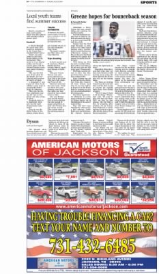 The Jackson Sun From Jackson Tennessee On July 27 2014 Page D6