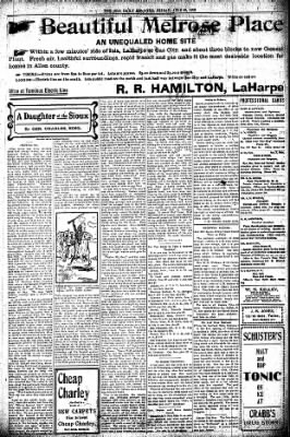Iola Daily Register And Evening News from Iola, Kansas on June 26, 1903 · Page 3