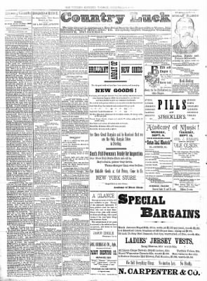 Sterling Daily Gazette from Sterling, Illinois on September 9, 1889 · Page 2