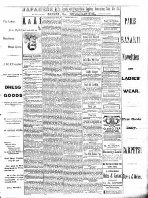 Sterling Daily Gazette from Sterling, Illinois on September 9, 1889 · Page 3