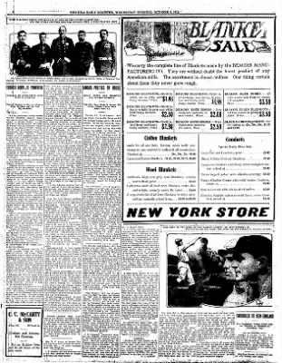 Iola Daily Register And Evening News from Iola, Kansas on October 9, 1912 · Page 8