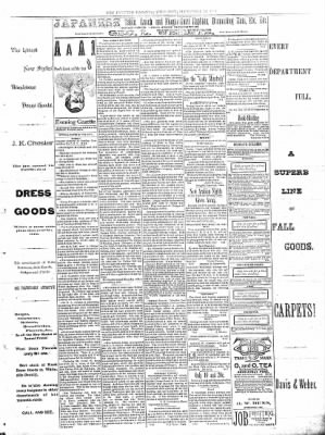 Sterling Daily Gazette from Sterling, Illinois on September 12, 1889 · Page 3