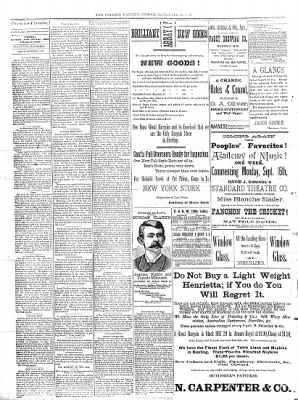 Sterling Daily Gazette from Sterling, Illinois on September 13, 1889 · Page 2