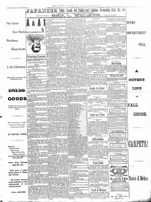 Sterling Daily Gazette from Sterling, Illinois on September 13, 1889 · Page 3