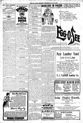 Iola Daily Register And Evening News from Iola, Kansas on July 1, 1903 · Page 2