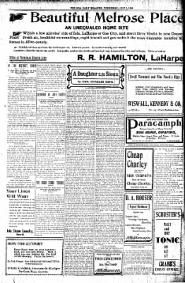 Iola Daily Register And Evening News from Iola, Kansas on July 1, 1903 · Page 3