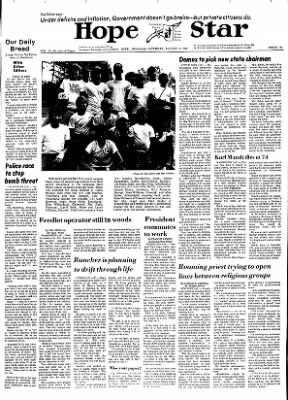 Hope Star from Hope, Arkansas on August 17, 1974 · Page 1