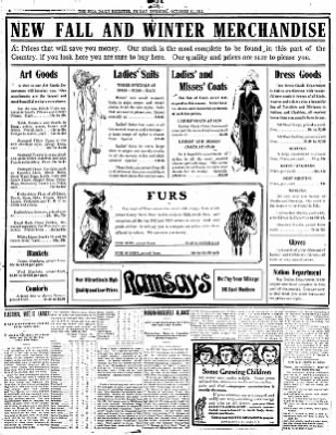Iola Daily Register And Evening News from Iola, Kansas on October 11, 1912 · Page 8