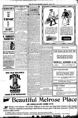 Iola Daily Register And Evening News from Iola, Kansas on July 2, 1903 · Page 3