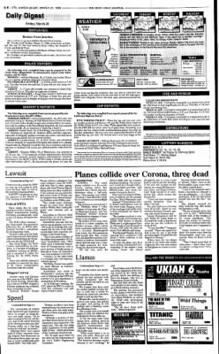 Ukiah Daily Journal from Ukiah, California on March 20, 1998 · Page 8