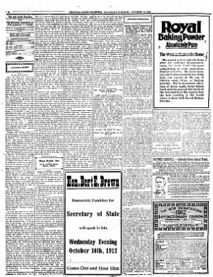 Iola Daily Register And Evening News from Iola, Kansas on October 12, 1912 · Page 4