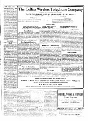 Covina Argus from Covina, California on February 29, 1908 · Page 3