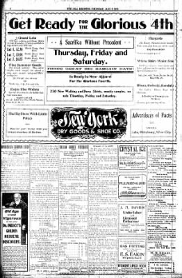 Iola Daily Register And Evening News from Iola, Kansas on July 2, 1903 · Page 4