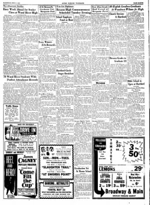 Alton Evening Telegraph from Alton, Illinois on May 31, 1952 · Page 11