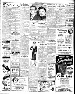 Hope Star from Hope, Arkansas on December 20, 1938 · Page 3