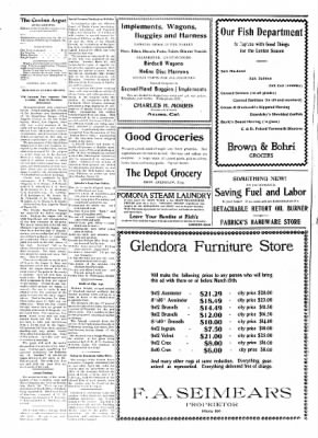 Covina Argus from Covina, California on March 14, 1908 · Page 4