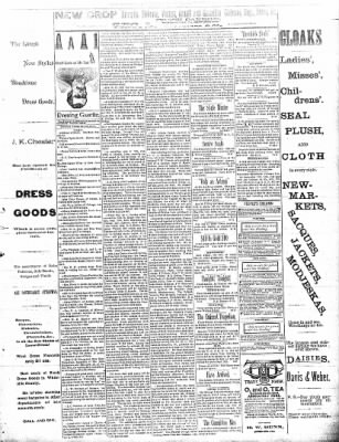 Sterling Daily Gazette from Sterling, Illinois on September 19, 1889 · Page 3