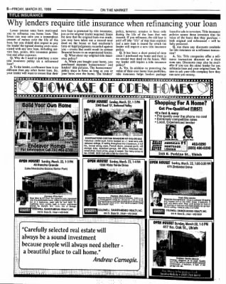 Ukiah Daily Journal from Ukiah, California on March 20, 1998 · Page 22