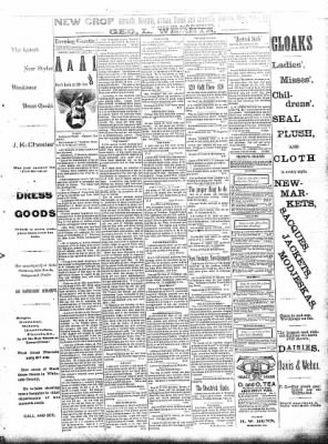 Sterling Daily Gazette from Sterling, Illinois on September 21, 1889 · Page 3