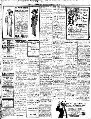 Iola Daily Register And Evening News from Iola, Kansas on October 16, 1912 · Page 3