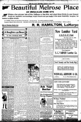 Iola Daily Register And Evening News from Iola, Kansas on July 7, 1903 · Page 6