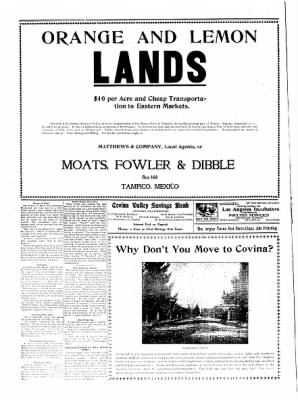 Covina Argus from Covina, California on April 11, 1908 · Page 6