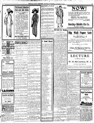 Iola Daily Register And Evening News from Iola, Kansas on October 17, 1912 · Page 3