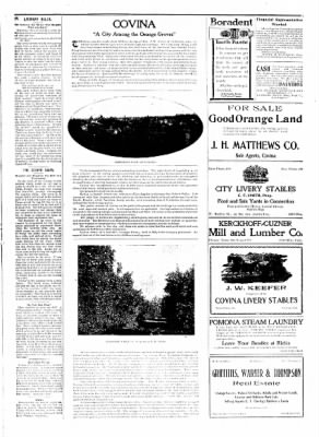 Covina Argus from Covina, California on April 18, 1908 · Page 3