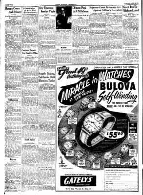 Alton Evening Telegraph from Alton, Illinois on June 3, 1952 · Page 2