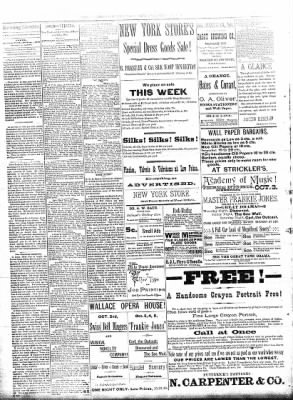 Sterling Daily Gazette from Sterling, Illinois on September 26, 1889 · Page 2
