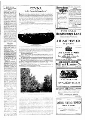 Covina Argus from Covina, California on April 25, 1908 · Page 3
