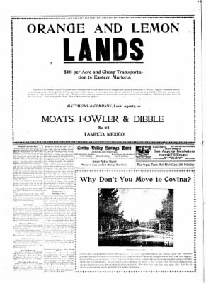 Covina Argus from Covina, California on April 25, 1908 · Page 6
