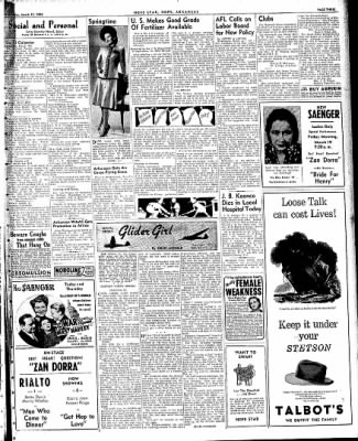 Hope Star from Hope, Arkansas on March 17, 1943 · Page 3