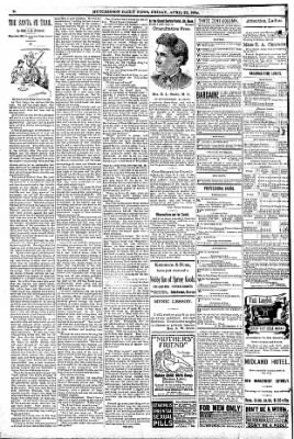 The Hutchinson News from Hutchinson, Kansas on April 22, 1892 · Page 2