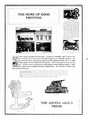 Covina Argus from Covina, California on May 9, 1908 · Page 3
